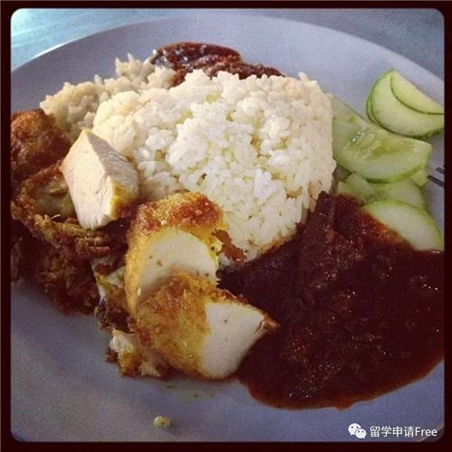 马来西亚留学美食,马来西亚留学,英迪大学美食